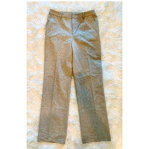 RALPH LAUREN Wool Flat Front Lined Dress Pants